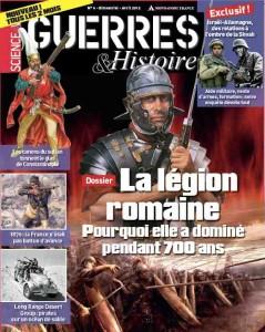 un coup d'avance dans magazine Guerres-Histoire-61-239x300
